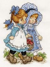 Best Friends Cross Stitch Pattern***L@@K*** - $4.95
