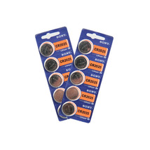 Sony 3V Lithium Cell Battery (Pack of 10), CR2025 - $11.98