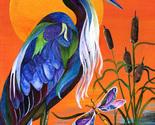 Blue heron cross stitch pattern thumb155 crop
