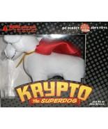 DC Direct Krypto The Superdog Soft Toy Superman's Pet Dog Rare Hard To Find - $79.95