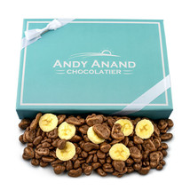 Andy Anand Belgian Milk Chocolate covered Banana Chips With Free Air Shipping - $22.84