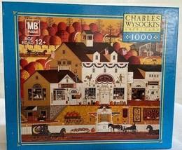 Charles Wysocki 1000 Piece Jigsaw Puzzle Game Old American RARE  Rompeca... - $84.15