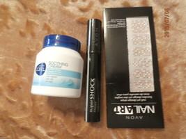 Avon  Super Shock Mascara, Nail Art & Soothing Cream  19 - $12.00
