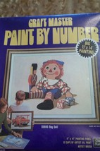 RAGGEDY ANDY RAG DOLL PAINT BY NUMBER KIT BY CRAFT MASTER - $12.00
