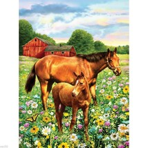HORSES IN FIELD PAINT BY NUMBERS KIT BY ROYAL ... - $12.00