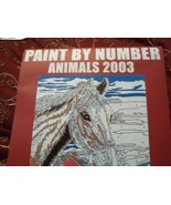 ANIMALS CALENDAR 2003  PAINT BY NUMBER KIT - $12.00