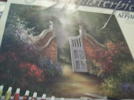 GARDEN GATE  PAINT BY NUMBER KIT - $19.00