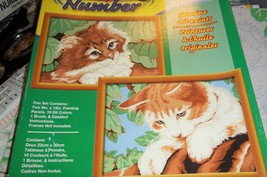 PLAYFUL KITTENS PAINT BY NUMBERS KIT BY CRAFT ... - $14.00