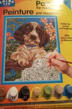 SPANIEL PAINT BY NUMBERS KIT BY ROYAL & LANGNI... - $12.00