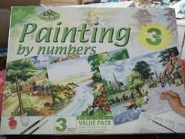DELUXE VALUE PACK  PAINT BY NUMBER KIT - $25.00