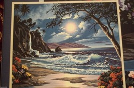 MOONLIT PARADISE BY PAINT WORKS PAINT BY NUMBER... - $23.95