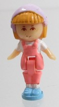 1990 Vintage Polly Pocket Doll Midge in her Necklace (Variation) - Midge - $8.00