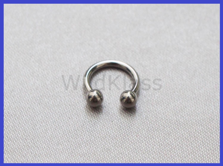 Horseshoe Ring Earring 16g 14g Septum Ring And 50 Similar Items