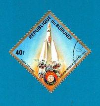 Burundi 1975 Apollo-Soyuz Space Mission Stamp (1 of 16 in set) - $1.99