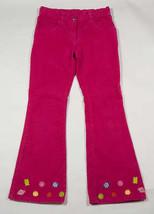 GYMBOREE GIRLS SIZE 9 PINK CORDUROY PANTS CANDY SHOPPE SHOP SWEET TREATS - $15.98