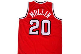 Chris Mullin #20 St John's University Men Basketball Jersey Red Any Size image 5