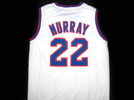 Bill Murray #22 Tune Squad Space Jam Movie Basketball Jersey White Any Size image 4