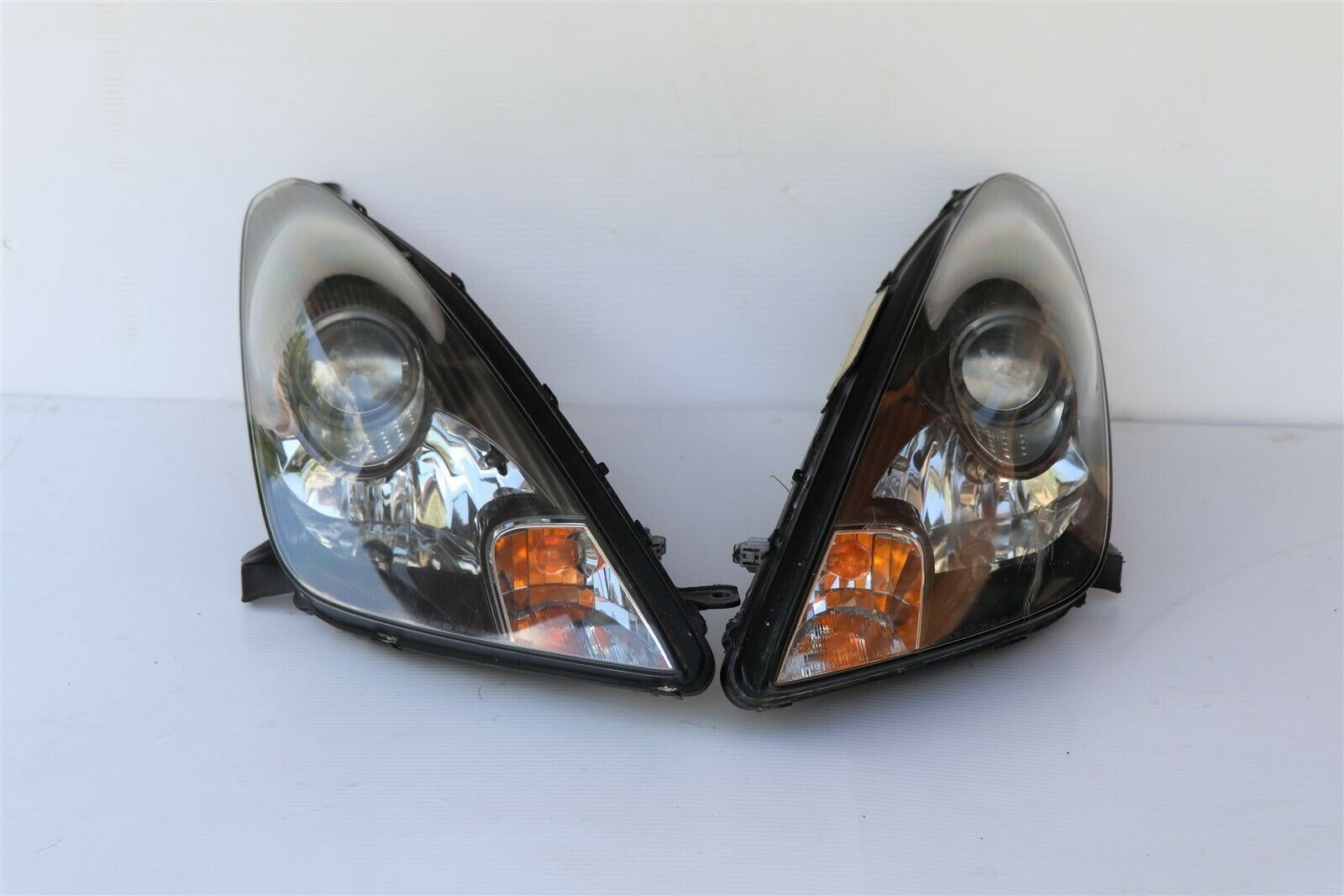 00-05 Toyota Celica HID Xenon Headlight Lamp Matching Set Pair L&R - POLISHED