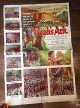 * NOAH'S ARK (1928) Orig. 40x60 Poster with George O'Brien & Dolores Cos... - $125.00