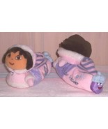 Dora Explorer & Boots Winter Wonder Soft Cloth Sole Sock Slippers Child ... - $7.89