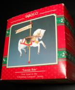 Enesco Ornament Treasury of Christmas Carousel Yuletime Ride 1990 Origin... - $11.99