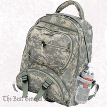"17"" Digital Camo Water-Resistant Backpack Day Pack Mesh Water Bottle Holder - $31.97"