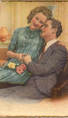 Primary image for His Sweetheart Vintage Post Card