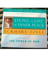 Living A Life Of Inner Peace Eckhart Tolle Audi... - $12.99
