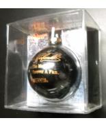 Nascar Collectibles Christmas Ornament Dale Earnhardt Black Glass Globe ... - $8.99
