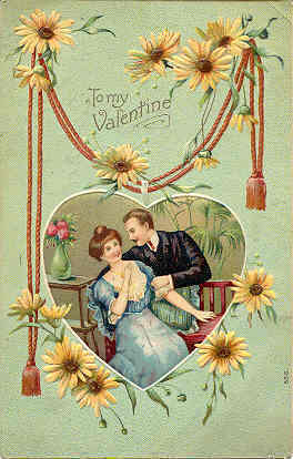 Primary image for To My Valentine 1910 Vintage Post Card