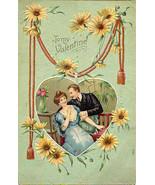 To My Valentine 1910 Vintage Post Card - $6.00