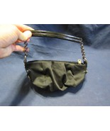 Simply Vera By Vera Wang Cloth Material Chain Link Strap Clutch Hand Bag - $9.99