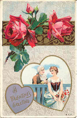 Primary image for  Valentine Greeting Vintage Post Card