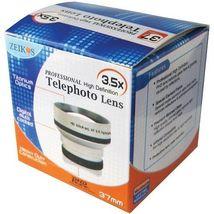 3.5x HD Telephoto Lens for Canon HFM31 HFM32 HFM36 HFM306 HG20 HG21 HR10... - $23.71