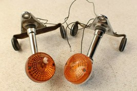 1980 Suzuki GS550 Gs550L Front Turn Signal Lights - $42.06
