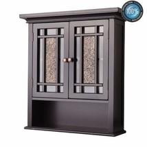 Traditional Wall Cabinet Bathroom WC Medicine Storage Furniture Toilet O... - $116.35