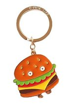 Creative Hamburger Pendant Design Key Ring - $14.64