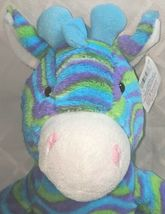 Fiesta A49886 Mod Squad 18 inch Multi Colored Waves Cuddle Giraffe image 3