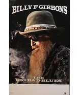 BILLY GIBBONS, THE BIG BAD BLUES POSTER (D6) - $8.59