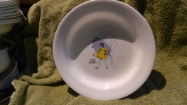 CORELLE MORTON SALT TEST ISSUE # 7 RARE FLAT RIMMED SOUP BOWL FREE SHIP - $37.39