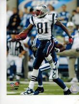 Randy Moss New England Patriots PF Vintage 8X10 Color Football Memorabilia Photo - $6.99