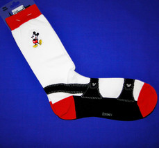 Disney Parks Mickey Mouse Mens Tall Socks Sz 9-12