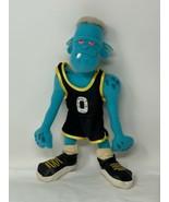 "McDonalds WB Space Jam Blue Monstar 11"" Plush Doll Looney Tunes Toy 1996  - $12.00"
