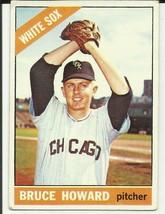 BRUCE HOWARD 1966 TOPPS #281 CHICAGO WHITE SOX - $2.02
