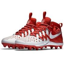 Nike Huarache V LAX Elite Red/White Lacrosse Football Cleats 807142 611 - $54.95
