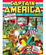 Captain America Timely Comics #1 Comic Cover Reproduction Stand-Up Display - $16.99