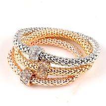 3 PC/Set Crystal Butterful Bracelet&Bangle (1), Fashion Round Charm Pend... - $10.89