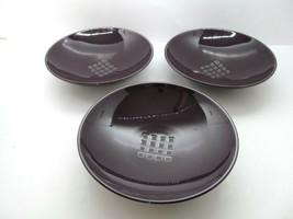 Mikasa Potters Art View Point Purple Coupe Soup Cereal Salad bowls bundl... - $19.59