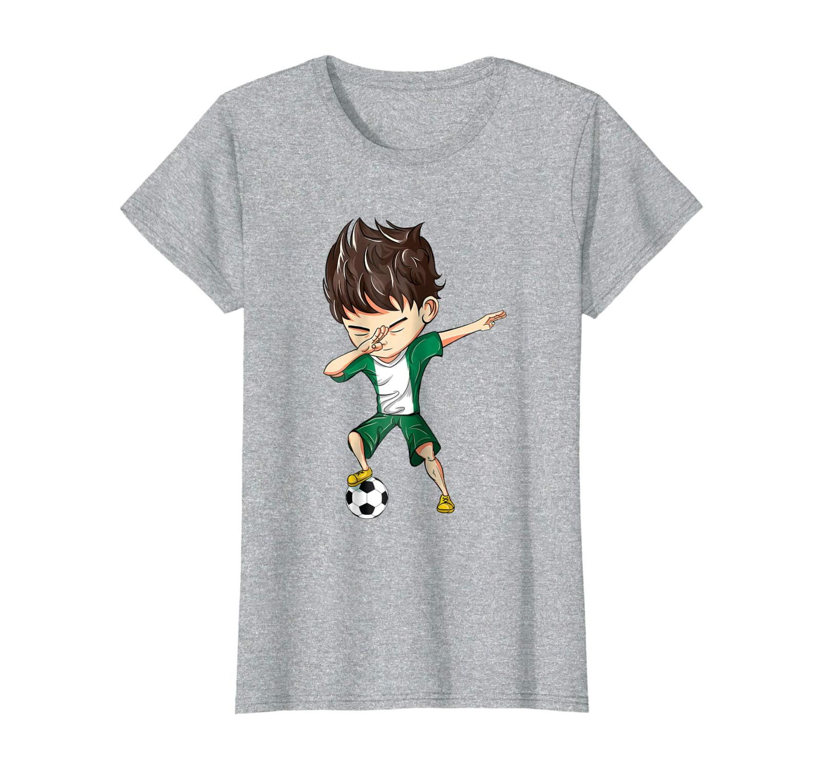 85c72d78e Brother Shirts - Dabbing Soccer Boy Nigeria Jersey Shirt - Nigeria Football  Wowe