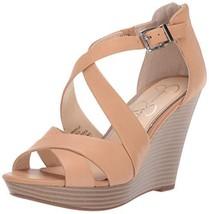 Jessica Simpson Women's Jakayla Sandal, Buff, 8 M US - $60.30